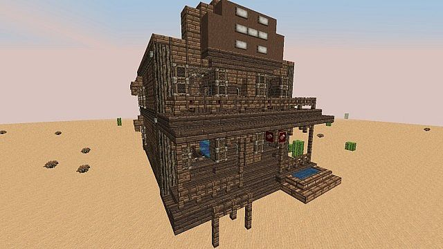 Wild West Building Bundle Minecraft Inc