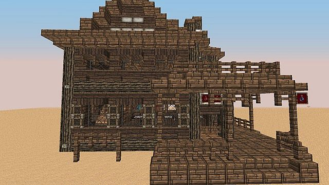 Wild West Building Bundle minecraft building 9