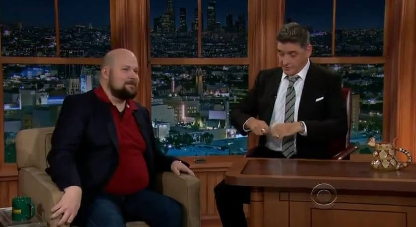 Photo of Notch on Late Night Show | CBS