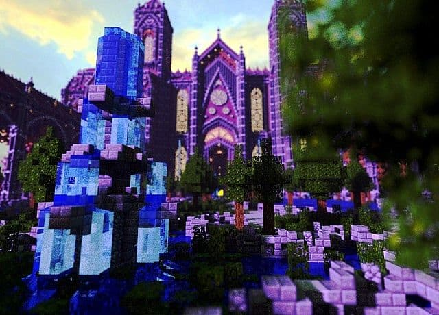 Birth Of A Guardian Land Of The Schnogot minecraft building ideas castle 10