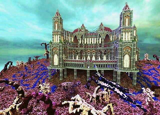 Birth Of A Guardian Land Of The Schnogot minecraft building ideas castle 12