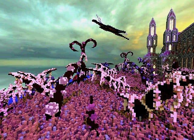 Birth Of A Guardian Land Of The Schnogot minecraft building ideas castle 14