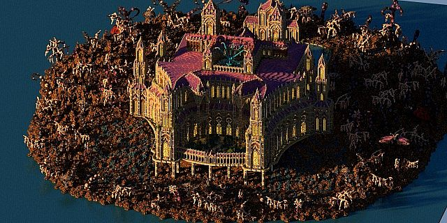 Birth Of A Guardian Land Of The Schnogot minecraft building ideas castle 5
