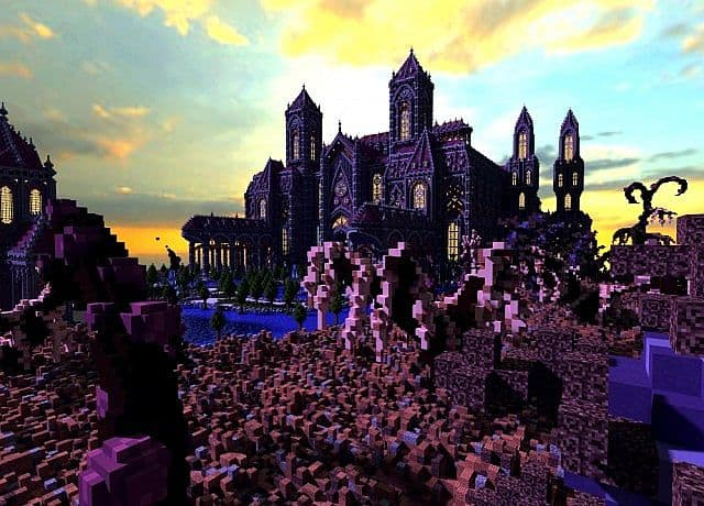 Birth Of A Guardian Land Of The Schnogot minecraft building ideas castle 6