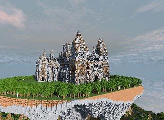Cathedral Vivaldi minecraft building ideas church 2