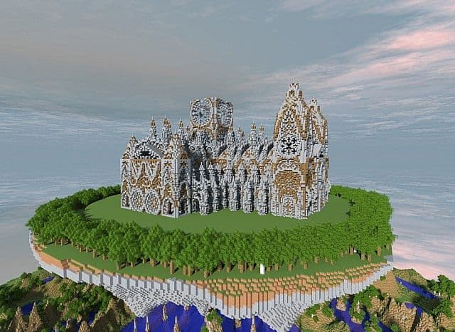 Cathedral Vivaldi minecraft building ideas church 3