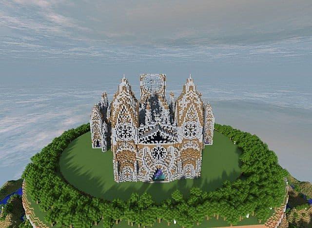 Cathedral Vivaldi minecraft building ideas church 4