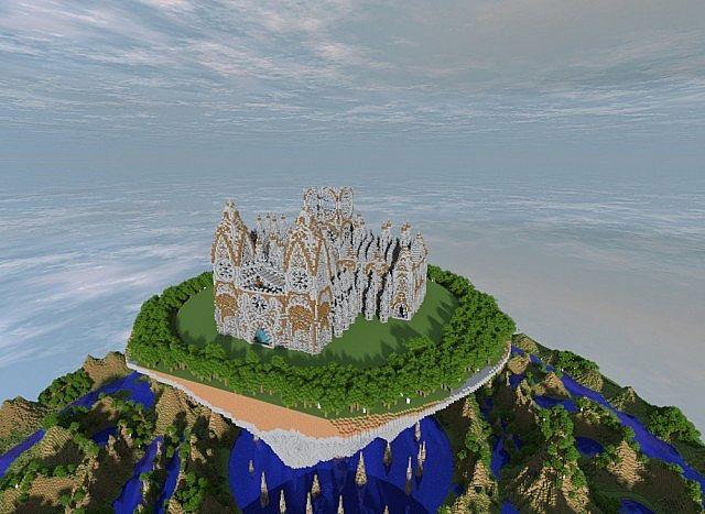 Cathedral Vivaldi minecraft building ideas church 5