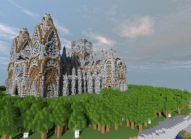 Cathedral Vivaldi minecraft building ideas church