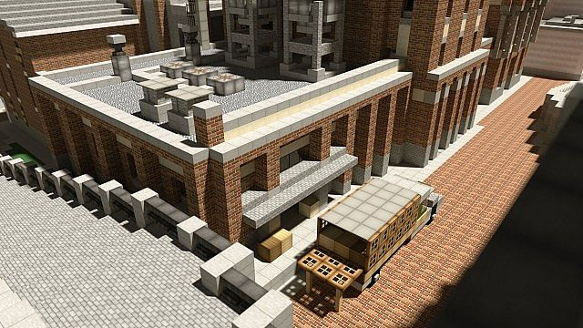 Chebucto City Series  Bellingham Brewery minecraft building 4