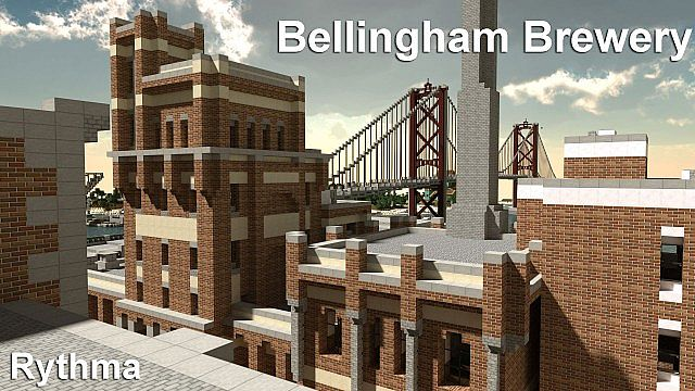 Chebucto City Series  Bellingham Brewery minecraft building