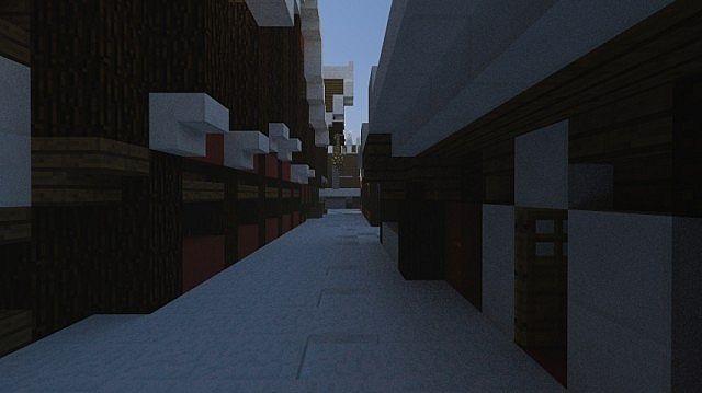 Christmas Village I Merry Christmas minecraft town building ideas 4