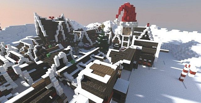 Christmas Village I Merry Minecraft Building Inc