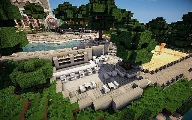 Easton Manor Colonial Manor Minecraft building house  18