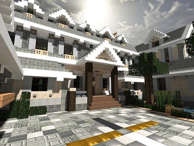 Easton Manor Colonial Manor Minecraft building house  2