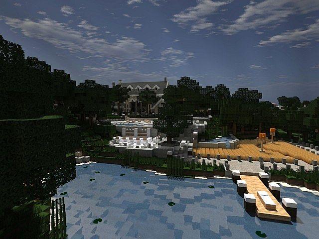 Easton Manor Colonial Manor Minecraft building house  3