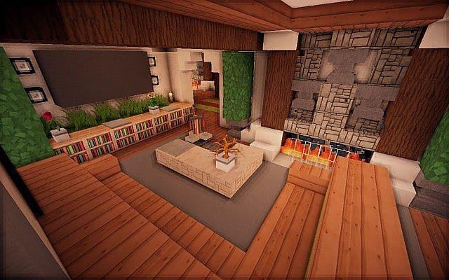 Easton Manor Colonial Manor Minecraft building house  7