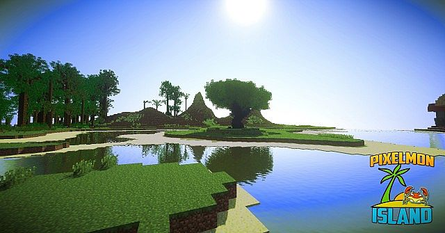 Elite Pixelmon Island minecraft building ideas pokemon 15
