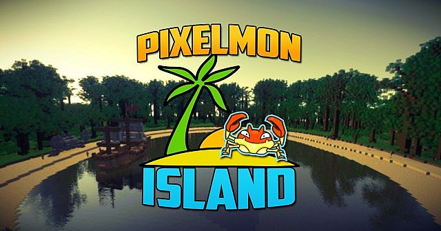 Elite Pixelmon Island minecraft building ideas pokemon