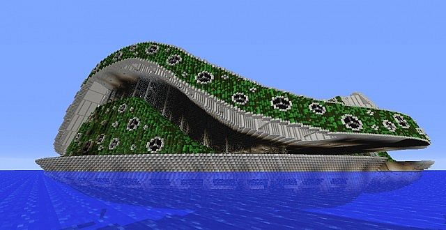 Lilypad City Eco Floating City Minecraft Building Inc