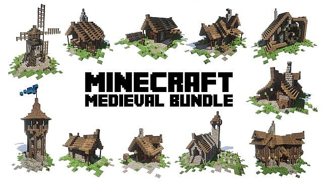 Medieval Bundle minecraft pack ideas