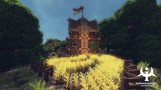 Medieval Fantasy buildpack minecraft building ideas 11