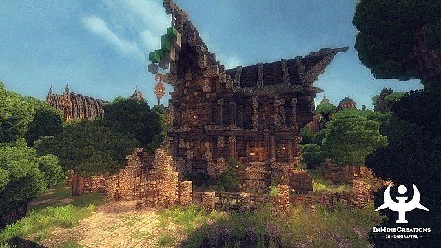 Medieval Fantasy buildpack minecraft building ideas 12