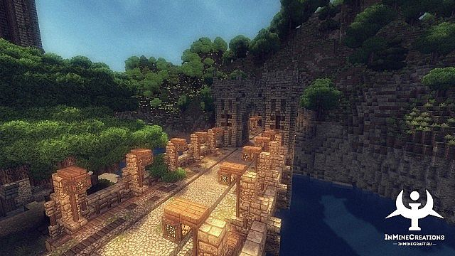 Medieval Fantasy buildpack minecraft building ideas 15