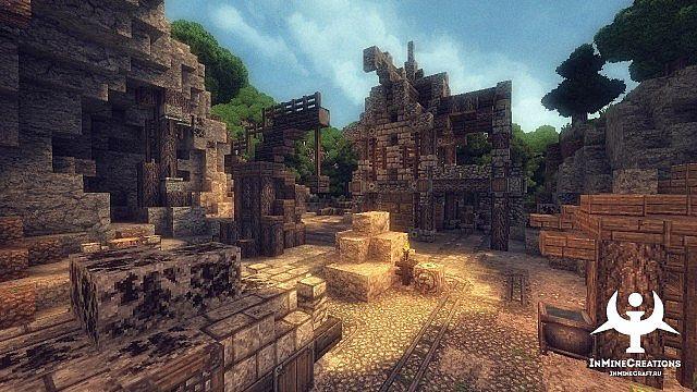 Medieval Fantasy buildpack minecraft building ideas 16
