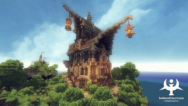 Medieval Fantasy buildpack minecraft building ideas 17