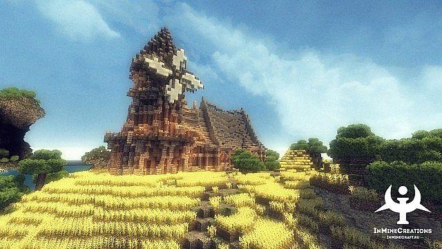 Medieval Fantasy buildpack minecraft building ideas 19