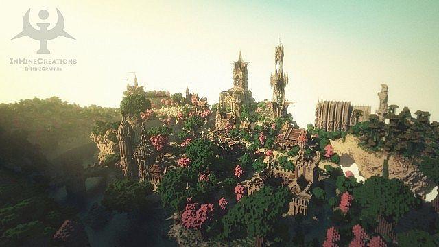 Medieval Fantasy buildpack minecraft building ideas 2