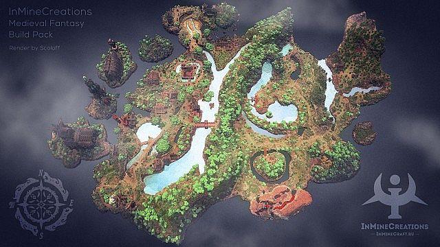 Medieval Fantasy buildpack minecraft building ideas 7