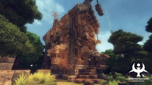 Medieval Fantasy buildpack minecraft building ideas 8