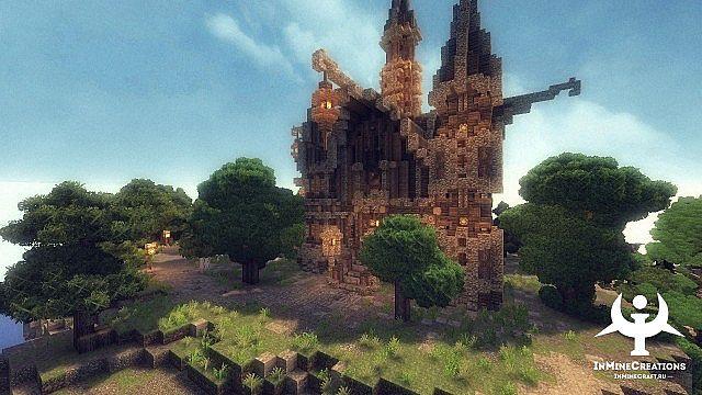 Medieval Fantasy buildpack minecraft building ideas 9