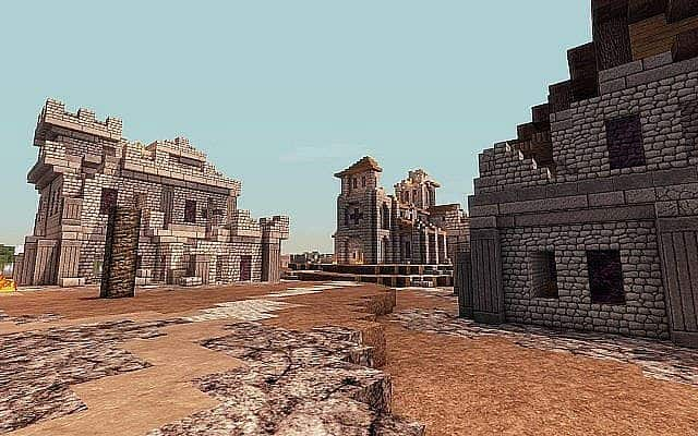 Medieval Fantasy world minecraft building town port ideas 7