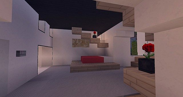 Modern Mansion - Cliff Side Escape Minecraft 10