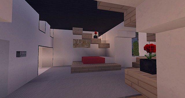 Modern Mansion - Cliff Side Escape Minecraft 10
