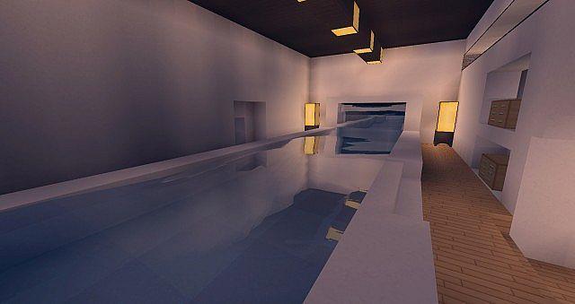 Modern Mansion - Cliff Side Escape Minecraft 11