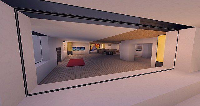 Modern Mansion - Cliff Side Escape Minecraft 14