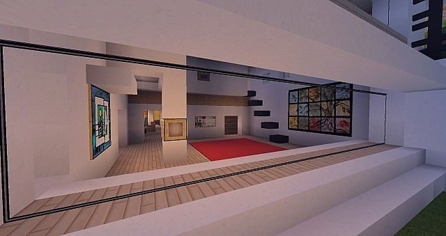 Modern Mansion - Cliff Side Escape Minecraft 15