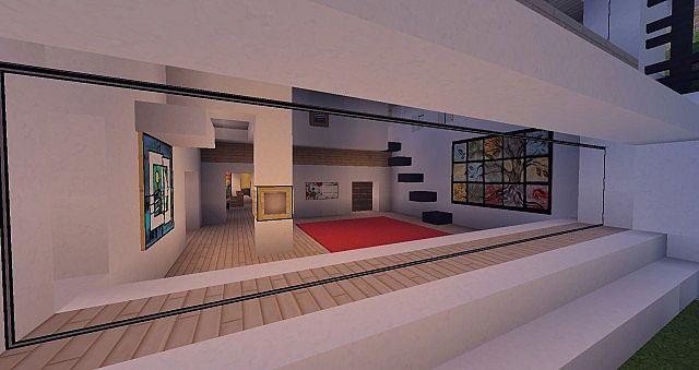 Modern Mansion - Cliff Side Escape Minecraft 15