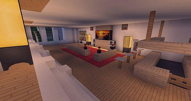 Modern Mansion - Cliff Side Escape Minecraft 7