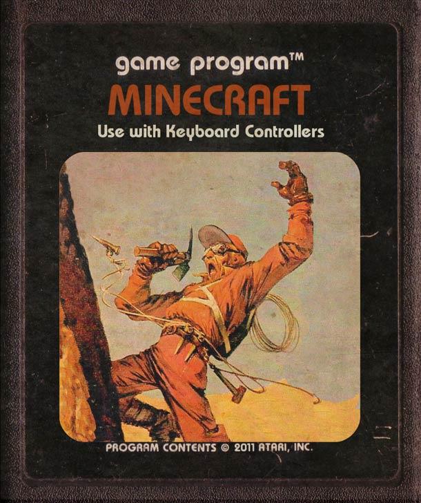 Modern-video-games-as-Atari-Cartridges-14 Minecraft