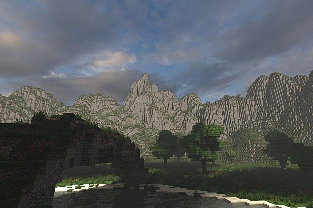 Mystical Tree Custom Terrain Large Custom Tree minecraft building ideas 3
