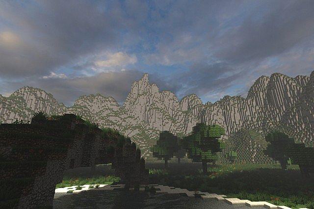 Mystical Tree Custom Terrain Large Custom Tree minecraft building ideas 3