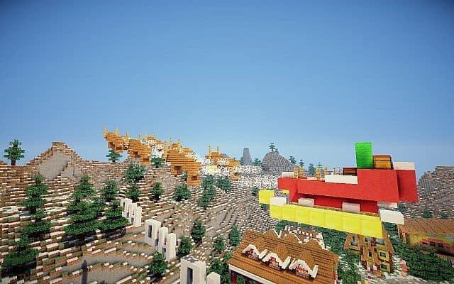 North Pole Christmas Minecraft building ideas 10
