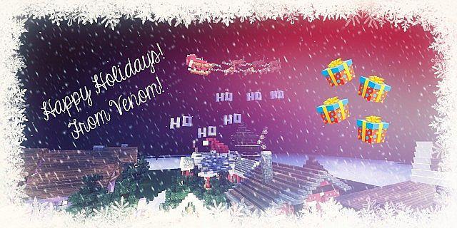 North Pole Christmas Minecraft building ideas 15