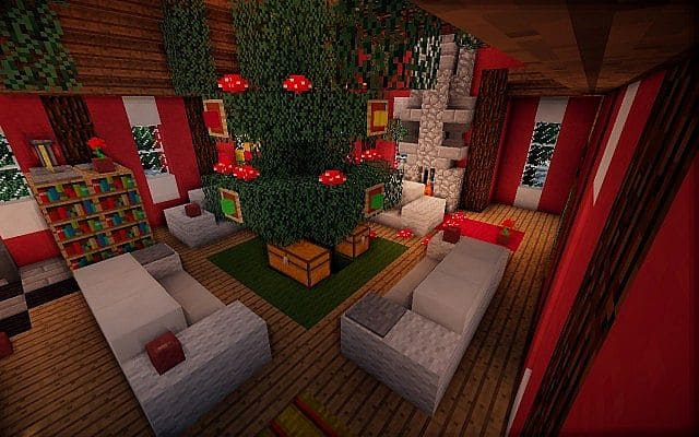 North Pole Christmas Minecraft building ideas 4