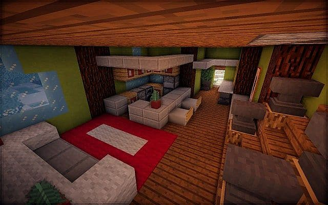 North Pole Christmas Minecraft building ideas 6